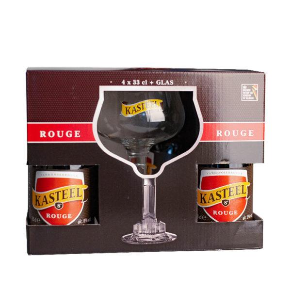Kasteel rouge ajándékcsomag 4 x 033 kehely vásárlás