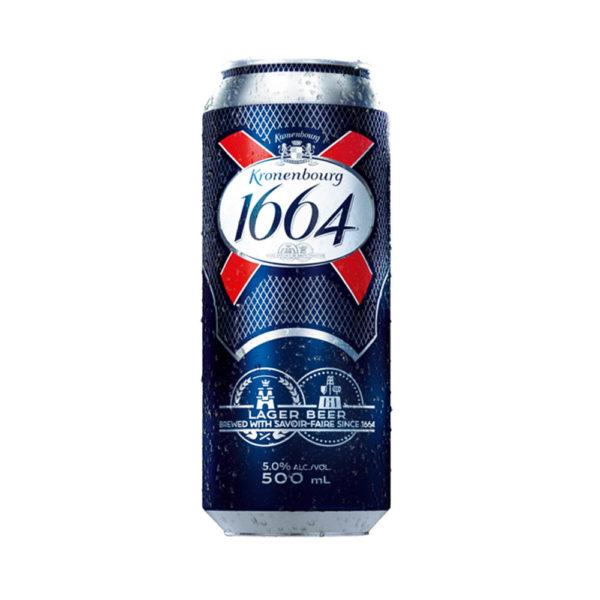 Kronenbour 1664 sör 05 dobozos 5 vásárlás