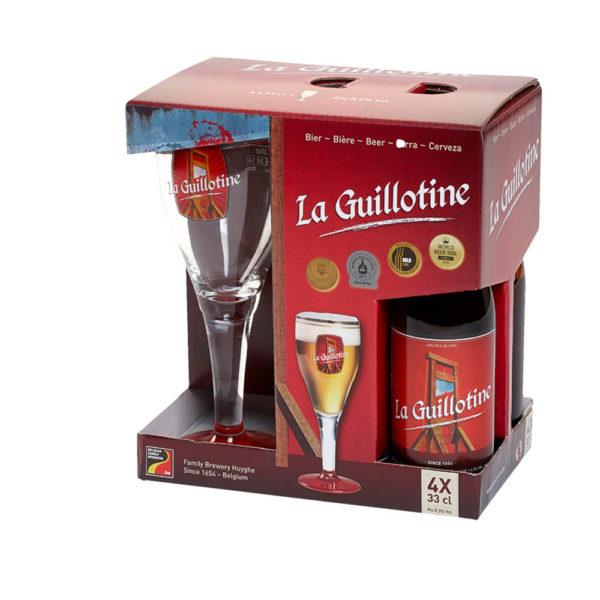 La Guillotine ajándékcsomag 4 x 033 kehely vásárlás