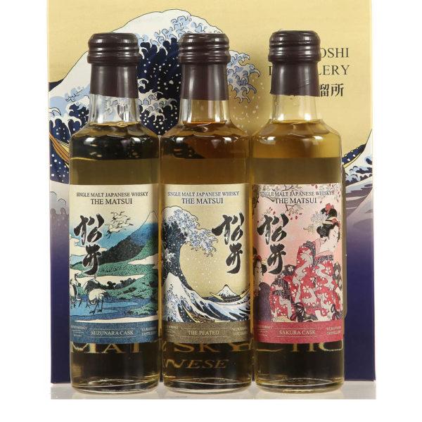 Matsui Single Malt Collection japán whisky 3x02 48 vásárlás