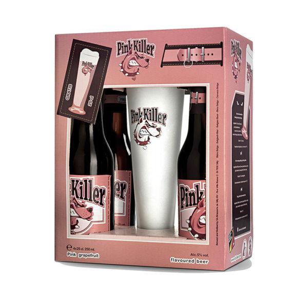 Pink Killer ajándékcsomag 4 x 025 kehely vásárlás
