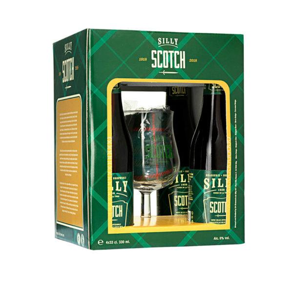 Scotch Silly ajándékcsomag 4 x 033 kehely vásárlás