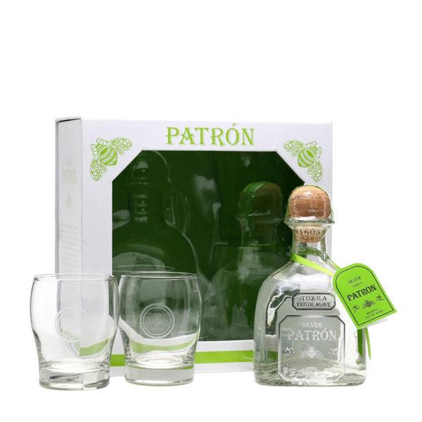 Tequila Patron Silver 07 pdd. 2 pohár 40 vásárlás
