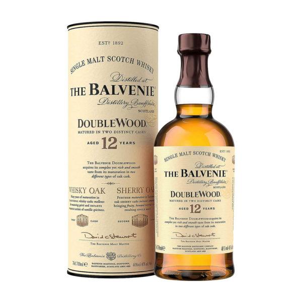 The Balvenie 12 éves DoubleWood Single Malt Scotch whisky 07 pdd. 40 vásárlás