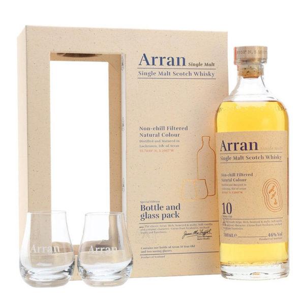 Arran 10 éves Single Malt Scotch whisky 07 pdd. 2 pohár 46 vásárlás