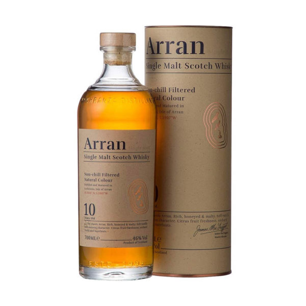 Arran 10 éves Single Malt Scotch whisky 07 pdd. 46 vásárlás