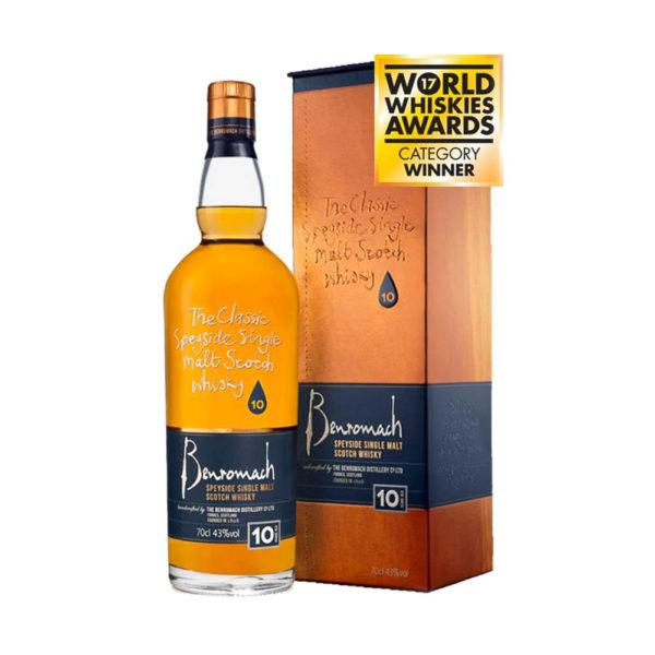 Benromach 10 éves Speyside Single Malt Scotch whisky 07 pdd. 43 vásárlás
