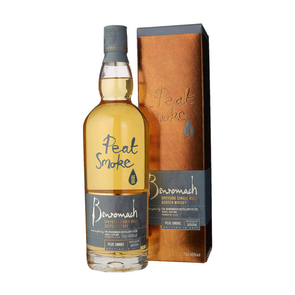 Benromach Peat Smoke Speyside Single Malt Scotch whisky 07 pdd. 46 vásárlás