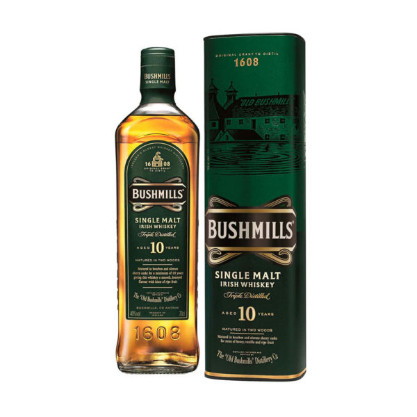 Bushmills 10 éves Single Malt Irish whiskey 07 pdd. 40 vásárlás