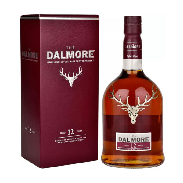Dalmore 12 éves Highland Single Malt Scotch whisky 07 pdd. 40 vásárlás