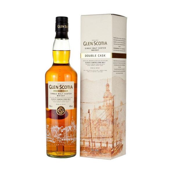 Glen Scotia Double Cask Single Malt Scotch whisky 07 pdd. 46 vásárlás