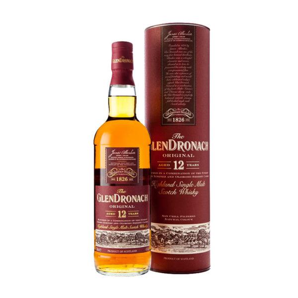 GlenDronach12 éves Highland Single Malt Scotch whisky 07 pdd. 43 vásárlás