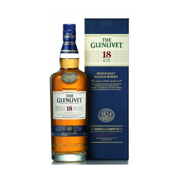 Glengivet 18 éves Single Malt Scotch whisky 07 pdd. 40 vásárlás