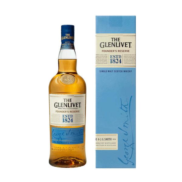 Glenlivet Founders Reserve Single Malt Scotch whisky 07 pdd. 40 vásárlás