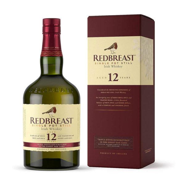 Redbreast 12 Year Old Single Pot Still Irish Whiskey 07 pdd. 40 vásárlás