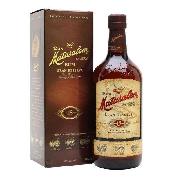 Ron Matusalem Gran Reserva 15 éves Doiminikai rum 07 pdd 40 vásárlás