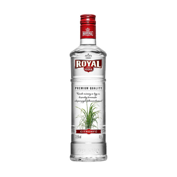 Royal Vodka Citromfű 05 375 vásárlás