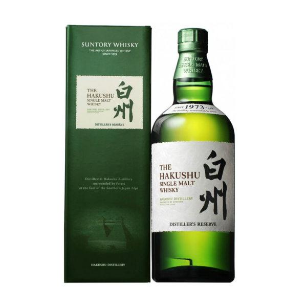 Suntory The Hakushu Single Malt whisky Distiller s Reserve 07 pdd. 43 vásárlás