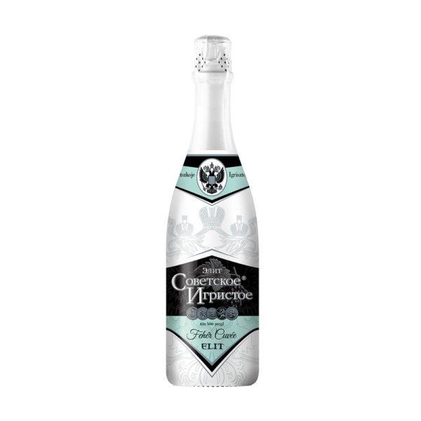 Szovjetszkoe Igrisztoe Elit Fehér Cuvée édes pezsgő 075 vásárlás