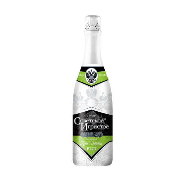 Szovjetszkoe Igrisztoe Elit Zöld Veltelini száraz pezsgő 075 vásárlás