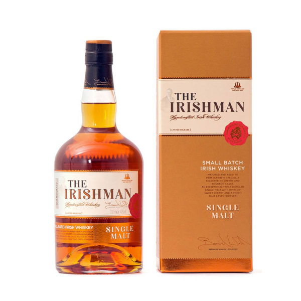 The Irishman Small Batch Single Malt Irish whiskey 07 pdd. 40 vásárlás
