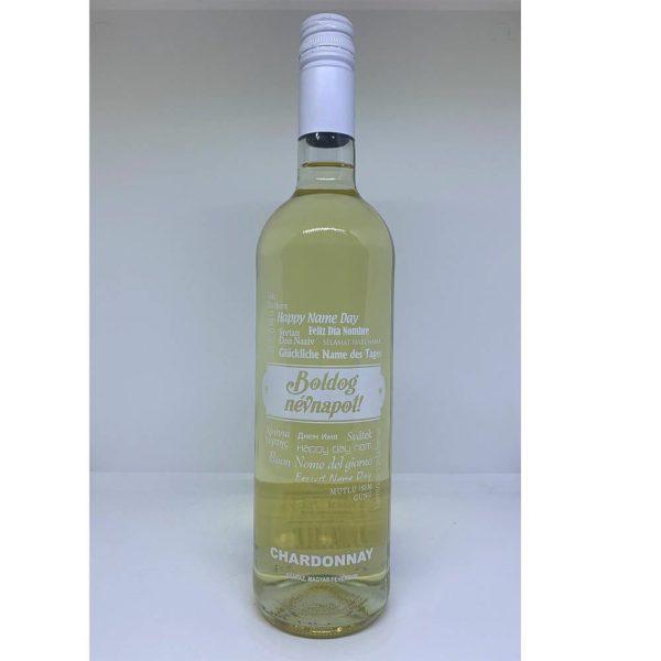 Boldog Névnapot Chardonnay száraz fehérbor 075 vásárlás