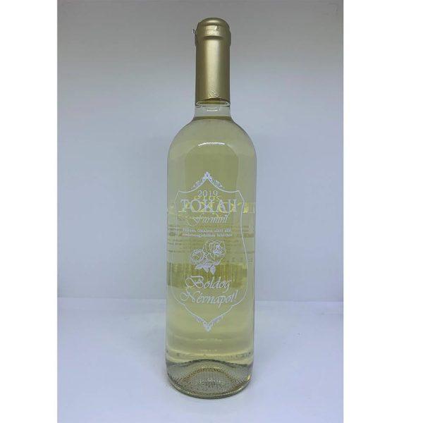 Boldog Névnapot Tokaji Furmint félédes fehérbor 075 vásárlás