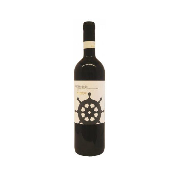 Bujdosó Katamarán Cabernet Franc Cabernet Sauvignon 2017. száraz vörösbor 075 vásárlás
