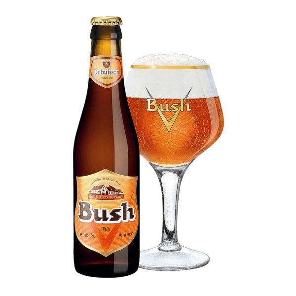 Bush Ambrée Félbarna Belga sör 033 üveges 12 vásárlás