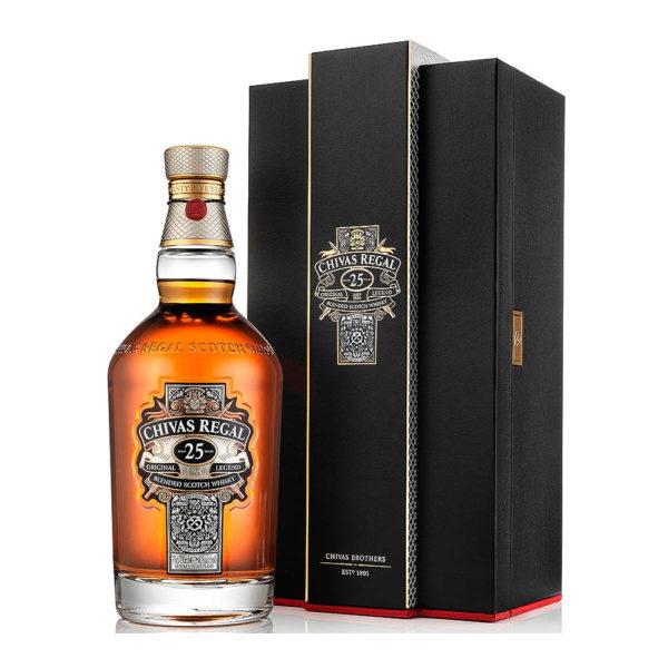 Chivas Regal 25 éves Blended Scotch wisky 07 dd 40 vásárlás