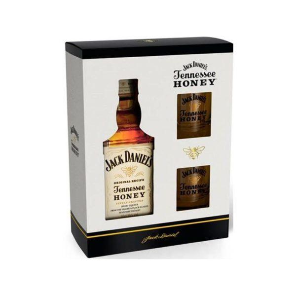 Jack Daniels Tennesse Honey 07 pdd 2 pohár vásárlás