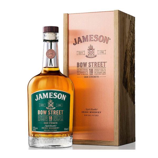 Jameson 18 éves Bow Street Triple Distilled Irish whiskey 07 dd 553 vásárlás