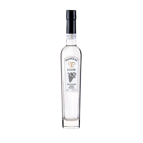Panyolai Elixír Irsai Olivér szőlőpálinka 05 43 vásárlás