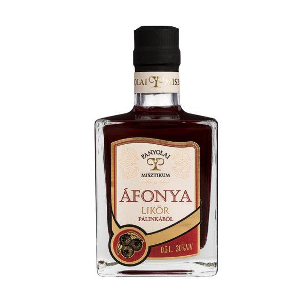 Panyolai Misztikum Áfonya likőr pálinkából 05 30 vásárlás