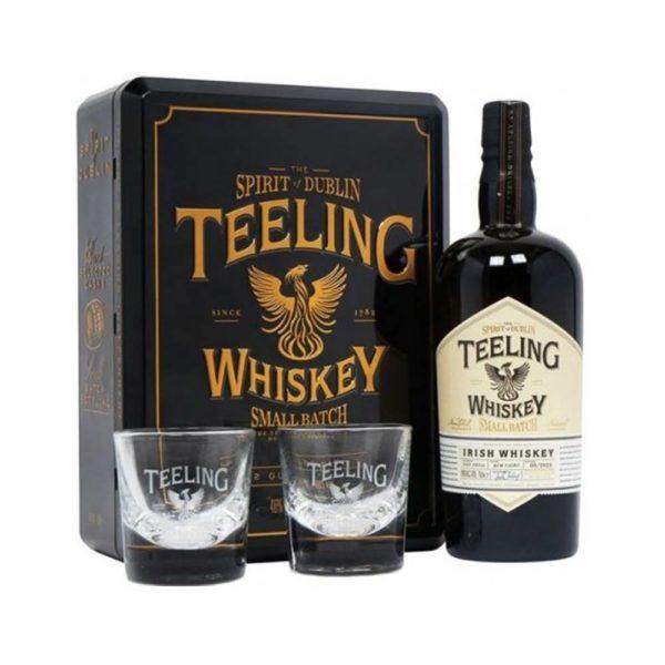 Teeling Small Batch whiskey 07 dd 2 pohár 46 vásárlás