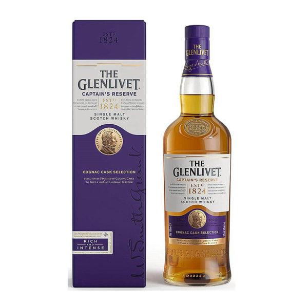 The Glenlivet Captain s Reserve Single Malt Scotch whisky 07 pdd 40 vásárlás